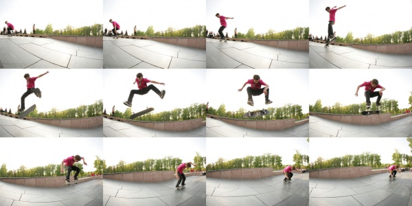 Деркач Дима  -  switch heelflip