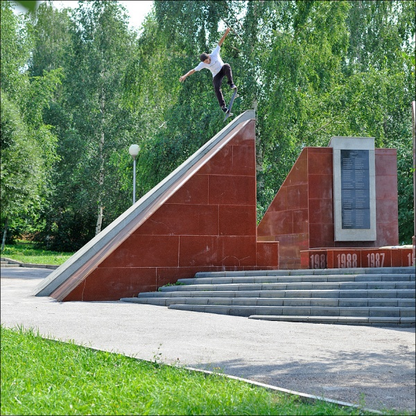 Конышев Гоша  -  noseblunt drop-in
