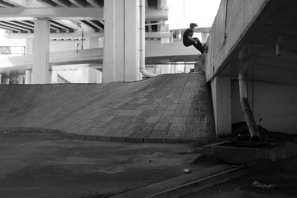 Ренов Юра  -  frontside wallride