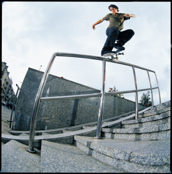 Cairo Foster - F/s nosegrind